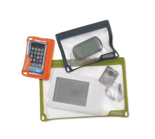 SealLine Electronic Case with electronics - Bild Cascade Designs ©Earl Harper