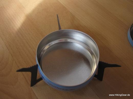 Esbit Titankocher, der kleine, handliche und leichte Kocher für die UL-Küche
