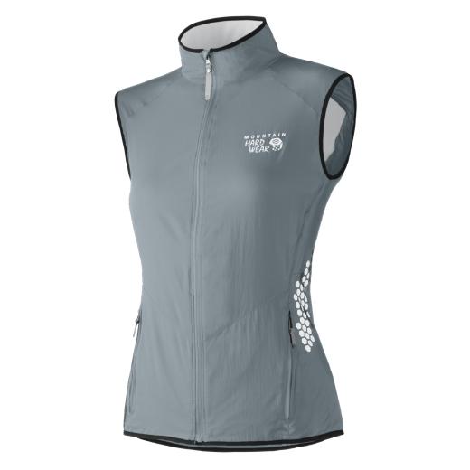 Mountain Hardwear Geist Vest - W - Titanuim - Foto: Mountain Hardwear