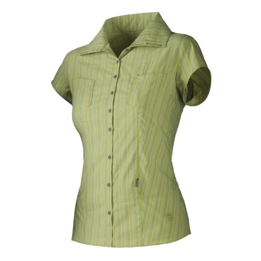 Mountain Hardwear Trailend Stripe S/S Shirt - W - Kiwi - Bild: Mountain Hardwear