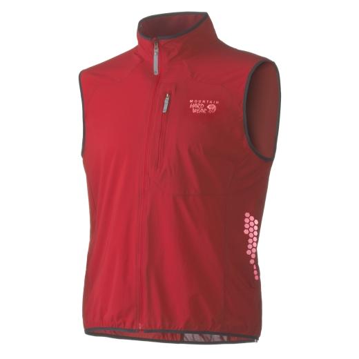 Mountain Hardwear Geist Vest - Red - Foto: Mountain Hardwear