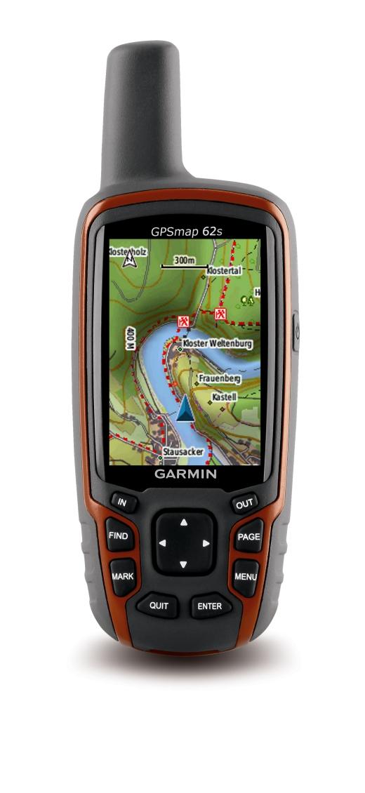 Neues Outdoor GPS-Handgerät Garmin GPSmap 62 Die Legende lebt!