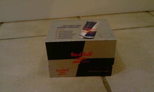 Produkttest: Red Bull Energy Shot der kleine Energydrink auf langen Touren