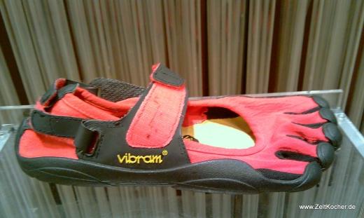 Vibram Five Fingers Sprint Schuhe, Sandalen oder die leichtesten Treter?