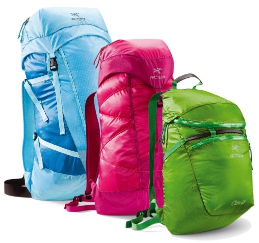 Arc'teryx Cierzo Packs 18, 25 & 35 Ultraleichte Alpin-Rucksäcke für Grammjäger