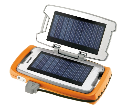 """BRUNTON """"RESTORE"""" PORTABLE POWER DEVICE Solarbetriebene, mobile """"Allzeit-Stromquelle"""" für unterwegs"""