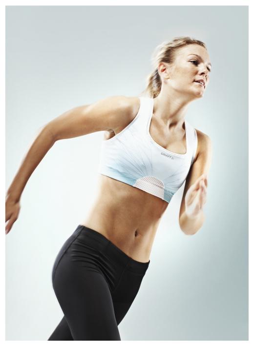 CRAFT SPORT BHs schwedische Unterstützung beim Laufen, Radfahren, Tennis & Fitness