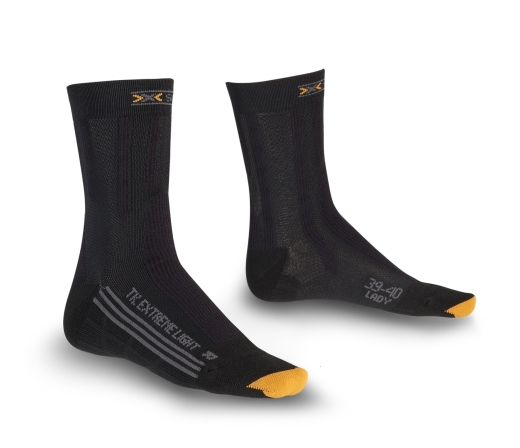 """OutDoor 2010: Kilometerfresser von X-SOCKS® für trockene und leistungsstarke Füße Die Woman-Modelle """"Trekking Silver Lady"""" und """"Trekking Extreme Light Lady"""""""