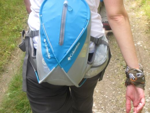 Produkttest: Columbia LOBEX Lumbar Pack, der leichte Hüft-Rucksack mit 8 Liter