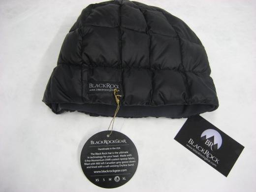 Black Rock Gear Down-Beanie – 27 g leichte Daunenmütze