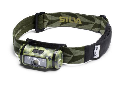 Silva NINOX – Trekking-Stirnlampe mit roten Leucht-LED