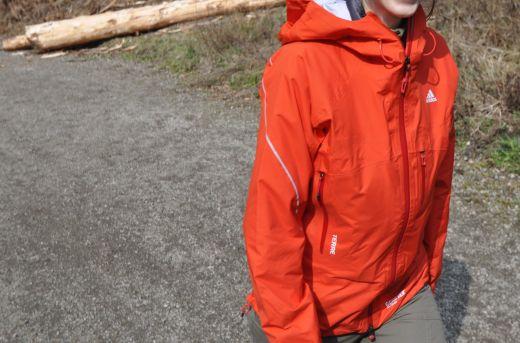 adidas Terrex Feather Jacket – Gore Pro Shell Jacke für jeden Einsatz