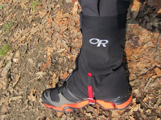 Outdoor Research Flex-Tex Gaiters – Äußerst flexible Gamaschen zum Laufen und Wandern