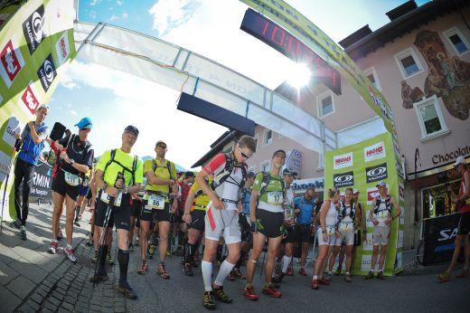 Start der Salomon 4 Trails, Foto: Lars Schneider