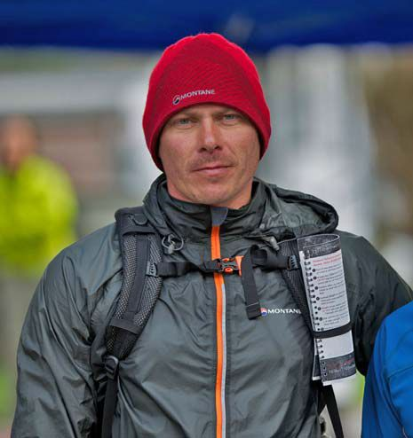 MONTANE® Lakeland 100 competitor Steven Major after finishing at Coniston. - Fotocredit: © Martin Hartley