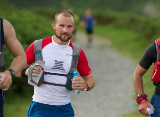 Terry Conway ran the MONTANE® Lakeland 100 in under 20 hours, smashing his own record from 2011.- Fotocredit  © Martin Hartley.
