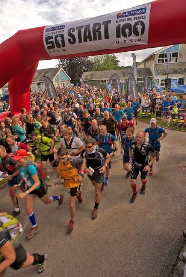 The MONTANE® Lakeland 100 begins at Coniston. - Fotocredit: © Martin Hartley