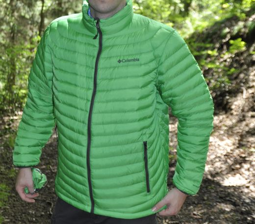 Columbia Powerfly – Daunenjacke mit Omni-Heat für Trekkingtouren