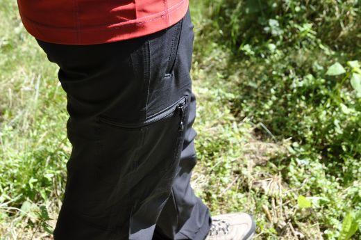 Bergans Krosso Neo Lady Pants – Leichte und technische Softshellhose für Trekkingtouren