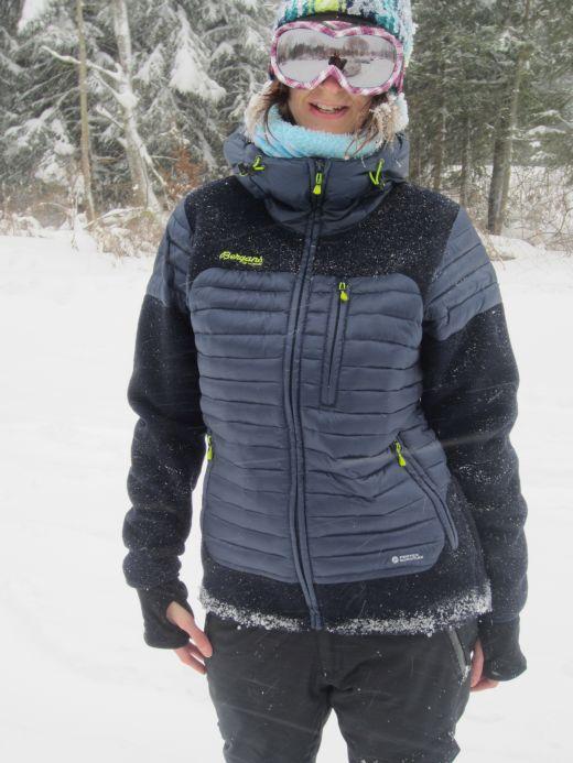 Bergans Osen Down/Wool Jacket – Die Hybrid-Daunenjacke von Bergans mit Tecnowool