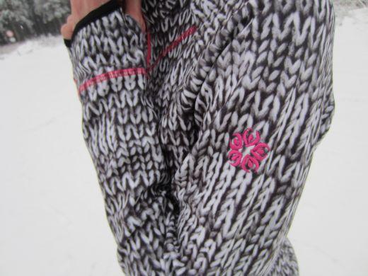 Wild Roses Uludag Ski Full Zip Fleece Jacket – Gelungene Kombination aus Funktionalität, Chic und Femininität