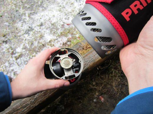 Review: Primus EtaSolo – Solokochset mit geringem Brennstoffverbrauch im Test