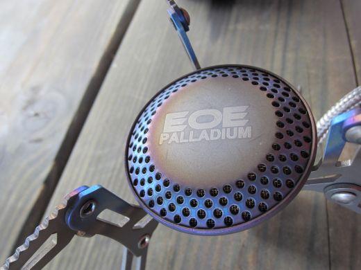 EOE Palladium – Ultraleichter Gaskocher aus Titan im Praxistest