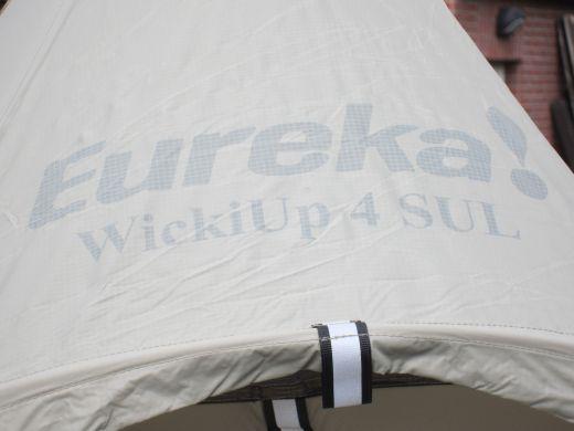 Review: Eureka Wicki Up 4 SUL – Für Trekkingtouren ein ultraleichtes Tipi für 4 Personen