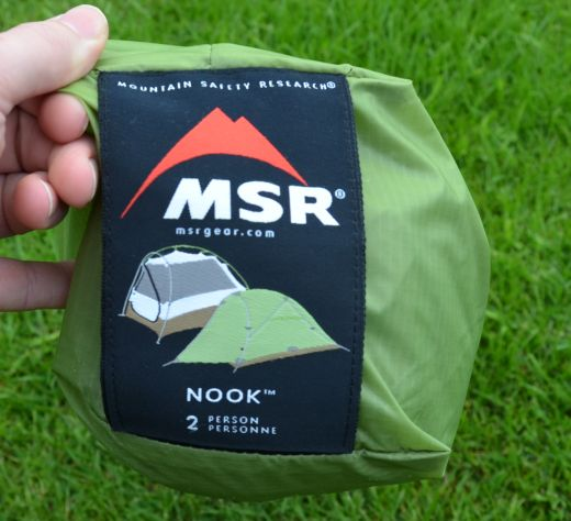 MSR Nook - Federleichtes Zelt  im Test