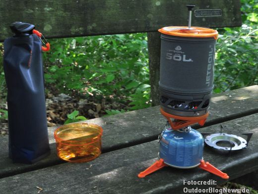 Review: Jetboil Sol Advanced Cooking System – PCS Kochsystem für Gas im Test