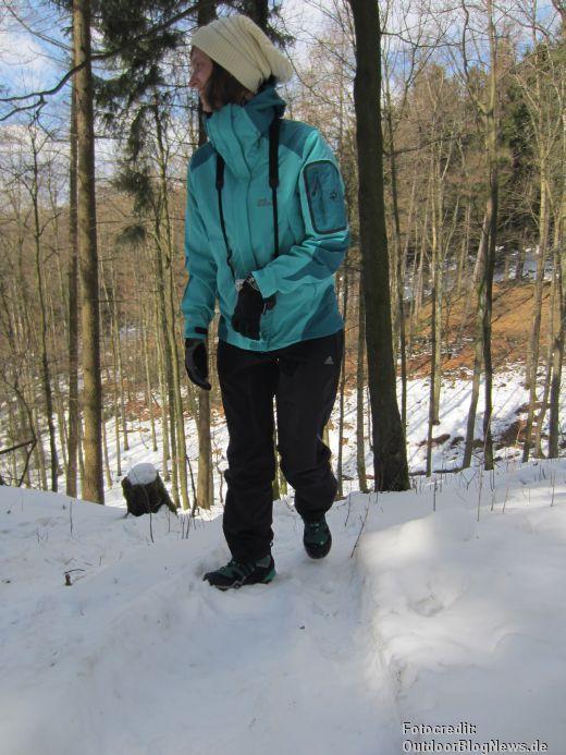 adidas w adidas terrex™ fast x GTX im winterlichen Praxistest