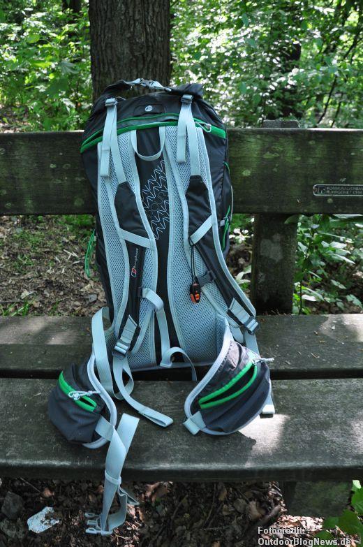 Adventure Light Rückensystem beim Berghaus Rucksack