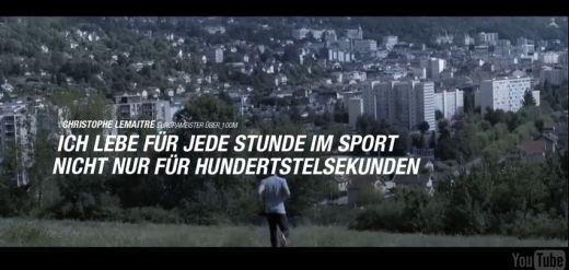 "Setz Dir ein Ziel mit Asics – Christophe Lemaitre ""Better your Best"""