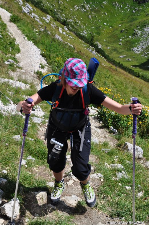 Review: Black Diamond Women's Ultra Mountain FL – Trekkingstöcke im Test