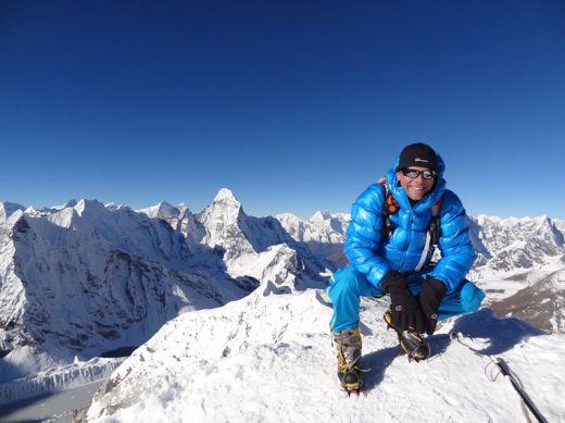 Philippe on Island-Peak - Fotocredit: Berghaus