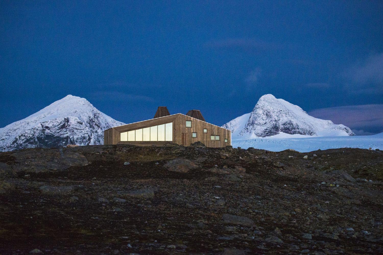 Norwegens coolste Hütte – Offen für Wanderer und Skifahrer