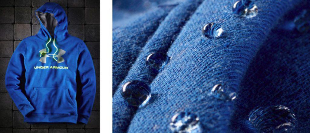Der neue STORM... … der perfekte Hoodie bei Regen und Nässe… - Fotocredit: Under Armour