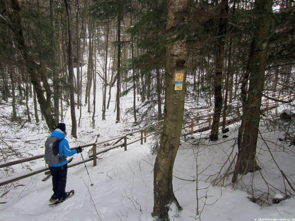 Schneeschuhwandern im Praxistest 017